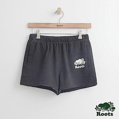 Roots -女裝- 經典海狸休閒短褲 - 灰