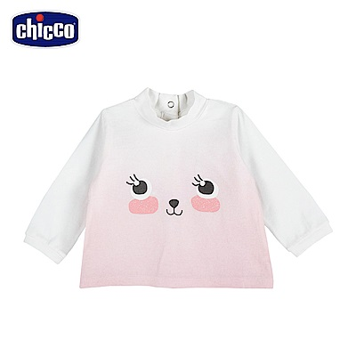 chicco-To Be Baby-高領長袖上衣-米(18個月-4歲)