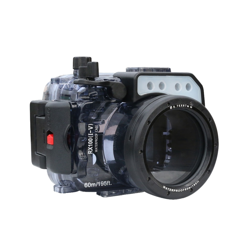 Kamera 60米防水殼Sony RX100 M1~M5