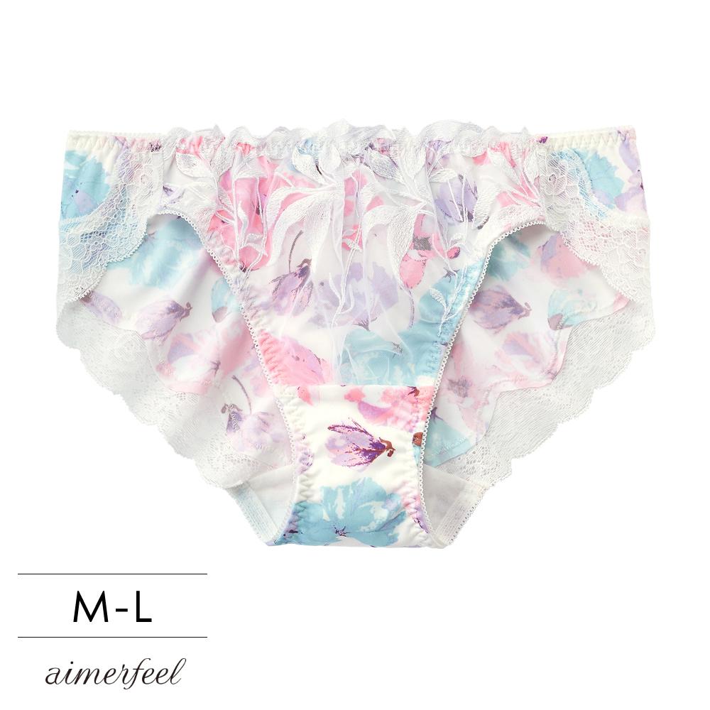 aimerfeel 單品內褲 徜徉花海 三角內褲 單品內褲 -710021-W