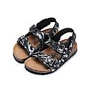 BuyGlasses 當格紋遇上迷彩兒童涼鞋-迷彩