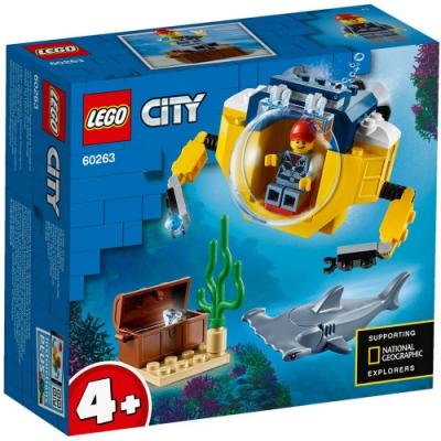 樂高LEGO 城市系列 - LT60263 海洋迷你潛水艇