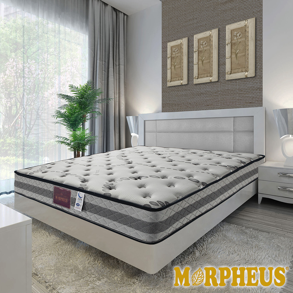 夢菲思 高蓬度天絲棉蜂巢式獨立筒床墊-雙人加大6尺
