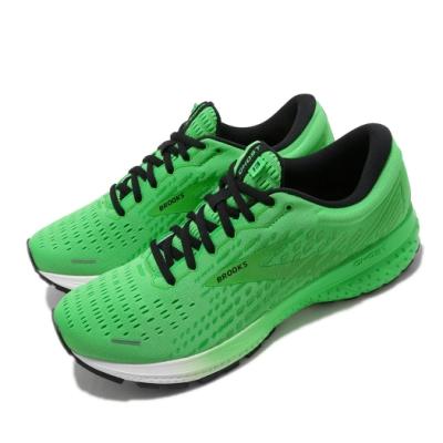 Brooks 慢跑鞋 Ghost 13 Splash Pack男鞋 路跑 緩震 DNA科技 透氣 健身 球鞋 綠 黑 1103481D340