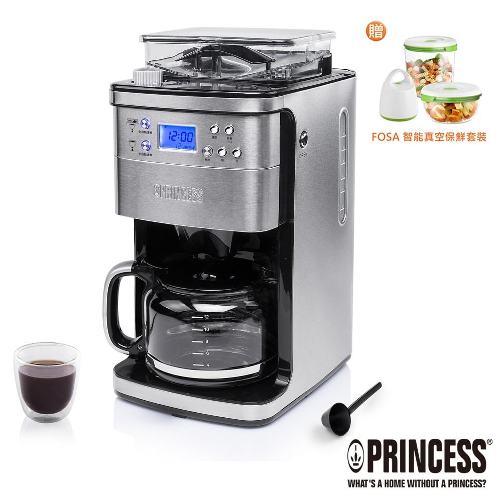 PRINCESS荷蘭公主全自動智慧型美式咖啡機249406
