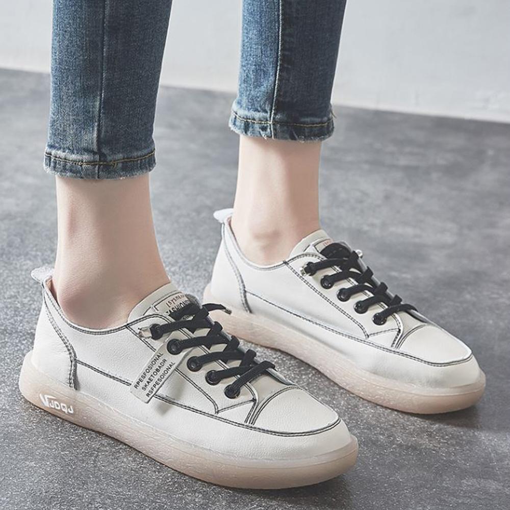 LN 熱銷真皮牛筋軟底小白鞋均一價-3色 product image 1