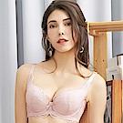 EASY SHOP-情縴時刻 大罩杯B-F罩成套內衣(粉紫色)