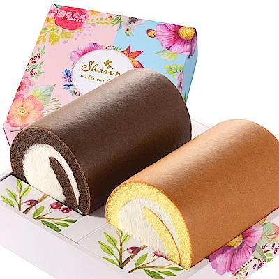亞尼克生乳捲 經典口味3件+雙捲禮盒(原味+特黑)x1