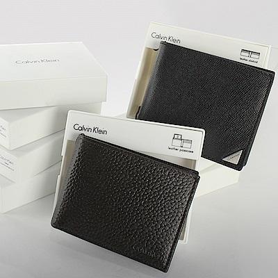 時時樂 Calvin Klein RFID防盜 精美禮盒短夾-多款