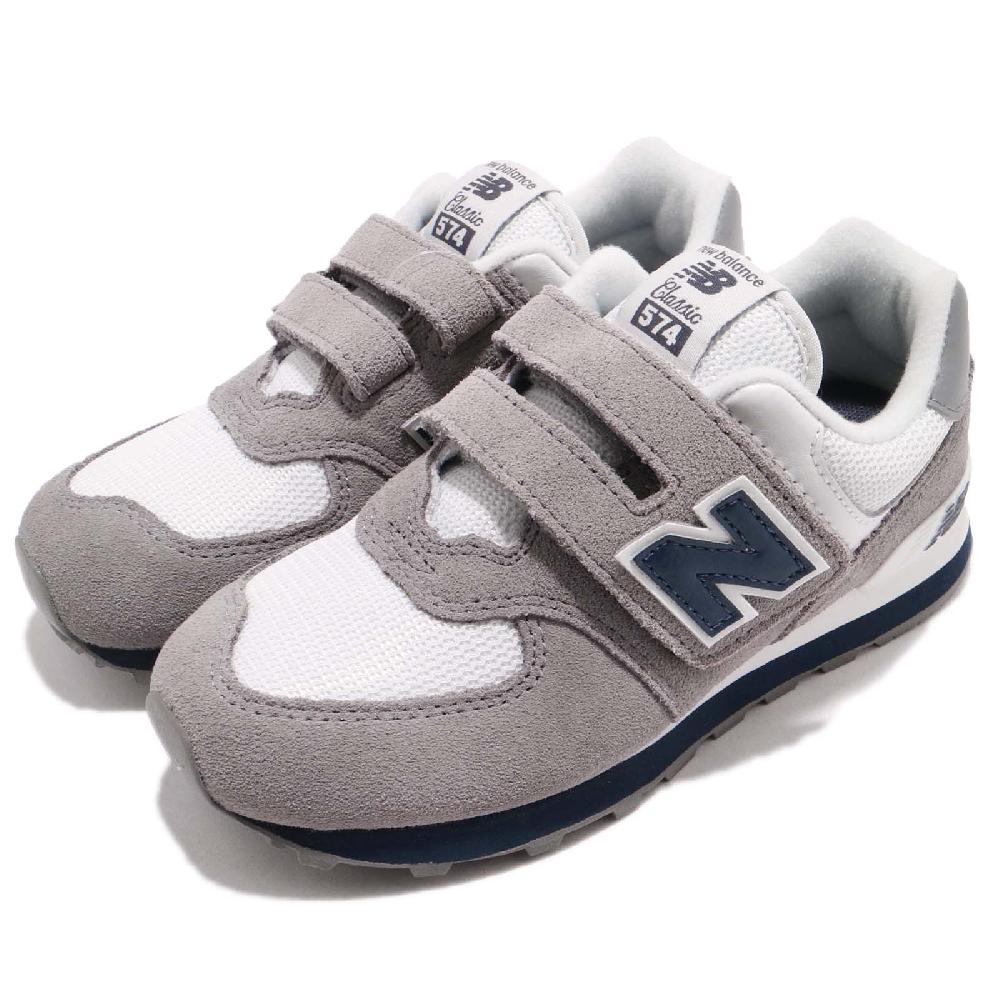 New Balance 中大童休閒鞋 -YV574CG-W 灰