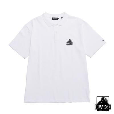 XLARGE EMBROIDERY OG POLO SHIRT 經典LOGO短袖POLO衫-白