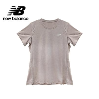 【New Balance】NB DRY 經典排汗短袖上衣_女性_淺紫_AWT01185LOR