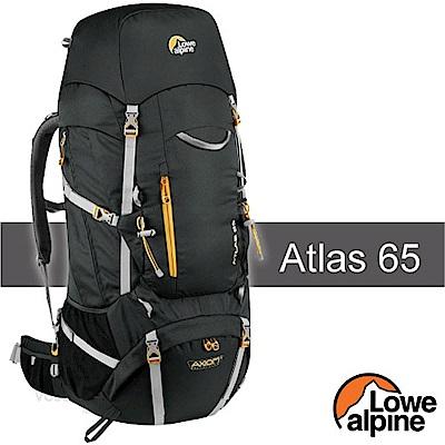 英國 LOWE ALPINE 新款 Atlas 65 輕量登山健行背包_煤炭黑