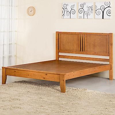 Homelike 藤野床架組-雙人5尺-154x198x105cm
