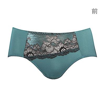 蕾黛絲-超值嚴選 優雅女伶搭配平口內褲 M-EL(沉靜綠)