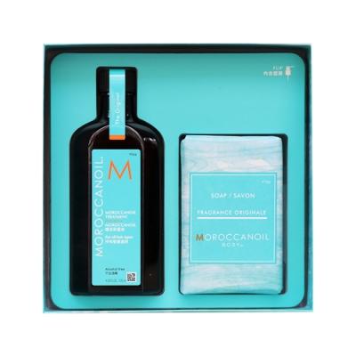 MOROCCANOIL摩洛哥優油 愛皂限量禮盒(護髮油125ml+香氛皂200g)