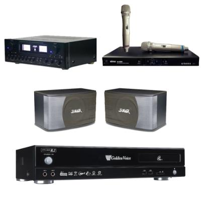 金嗓R2+SUGAR SAK-5888+SK-8610+MI-889(伴唱機 4TB+卡拉OK套組)