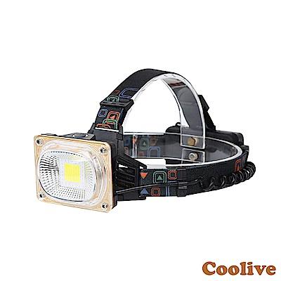 Coolive「COB」廣角強光工程頭燈