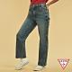 GUESS-女裝-ORIGINALS系列工裝造型直筒牛仔褲-藍 原價3990 product thumbnail 1