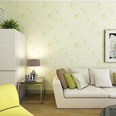 半島良品 防水PVC自黏牆紙45x200cm-三葉草