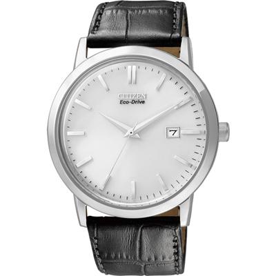 CITIZEN 痞子紳士光動能時尚腕錶(BM7190-05A)