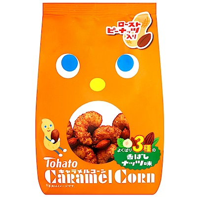 東鳩Tohato 焦糖玉米脆果-花生風味(77g)
