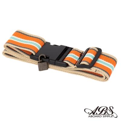 ABS愛貝斯 台灣製造繽紛旅行箱束帶單入 捆綁帶 可調式行李打包帶66-051D3