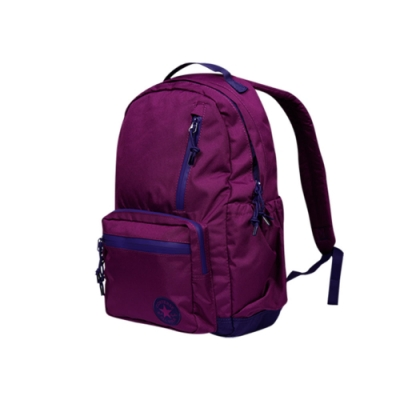 CONVERSE GO BACKPACK ICON中 後背包 紫 10006930-A10