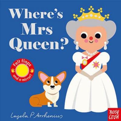 Where s Mrs Queen? 女王在哪裡? 不織布翻翻書