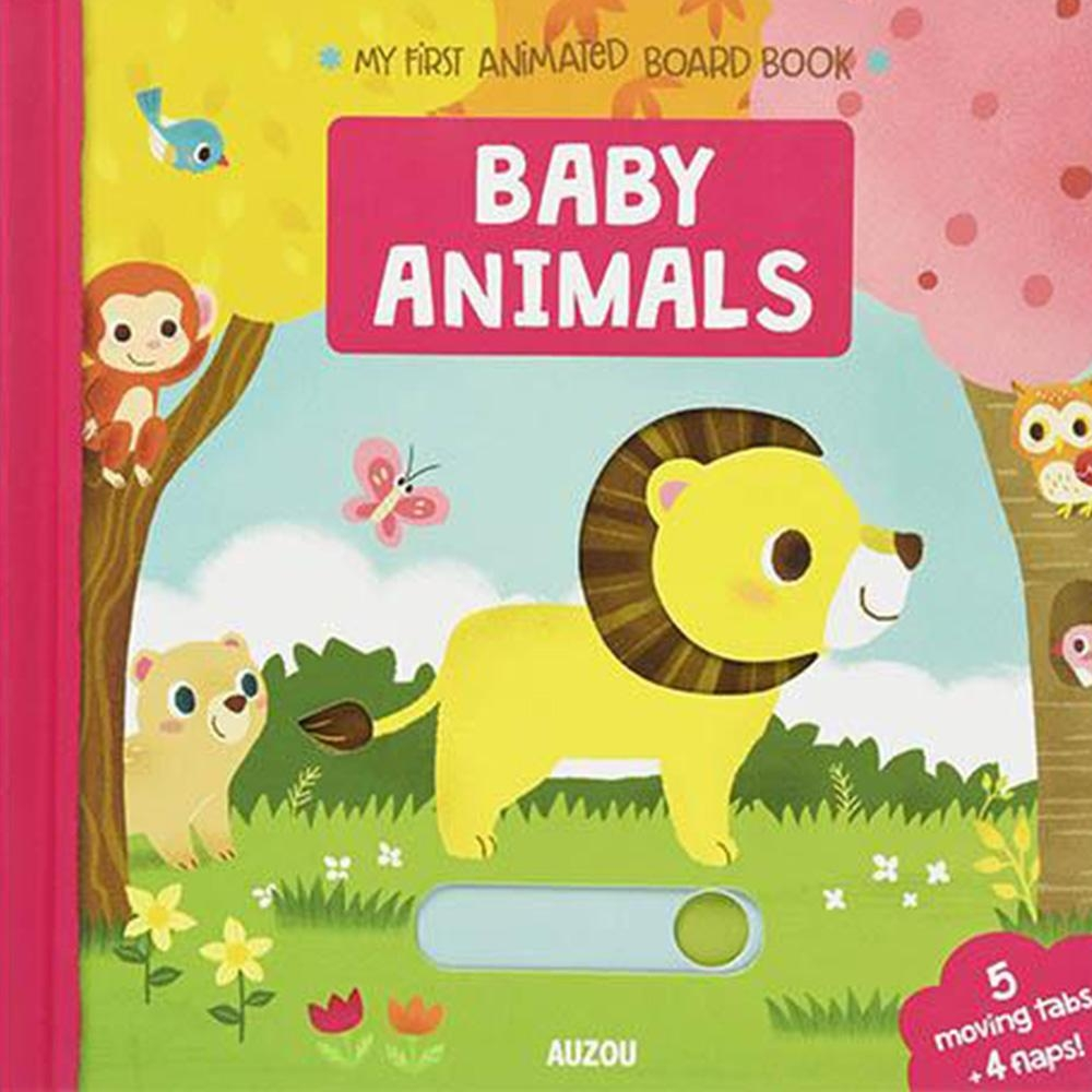 My First Animated Board Book:Baby Animals