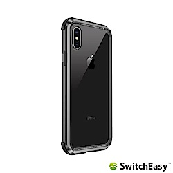 SwitchEasy iGlass iPhone Xs/X TPU邊框玻璃保護殼