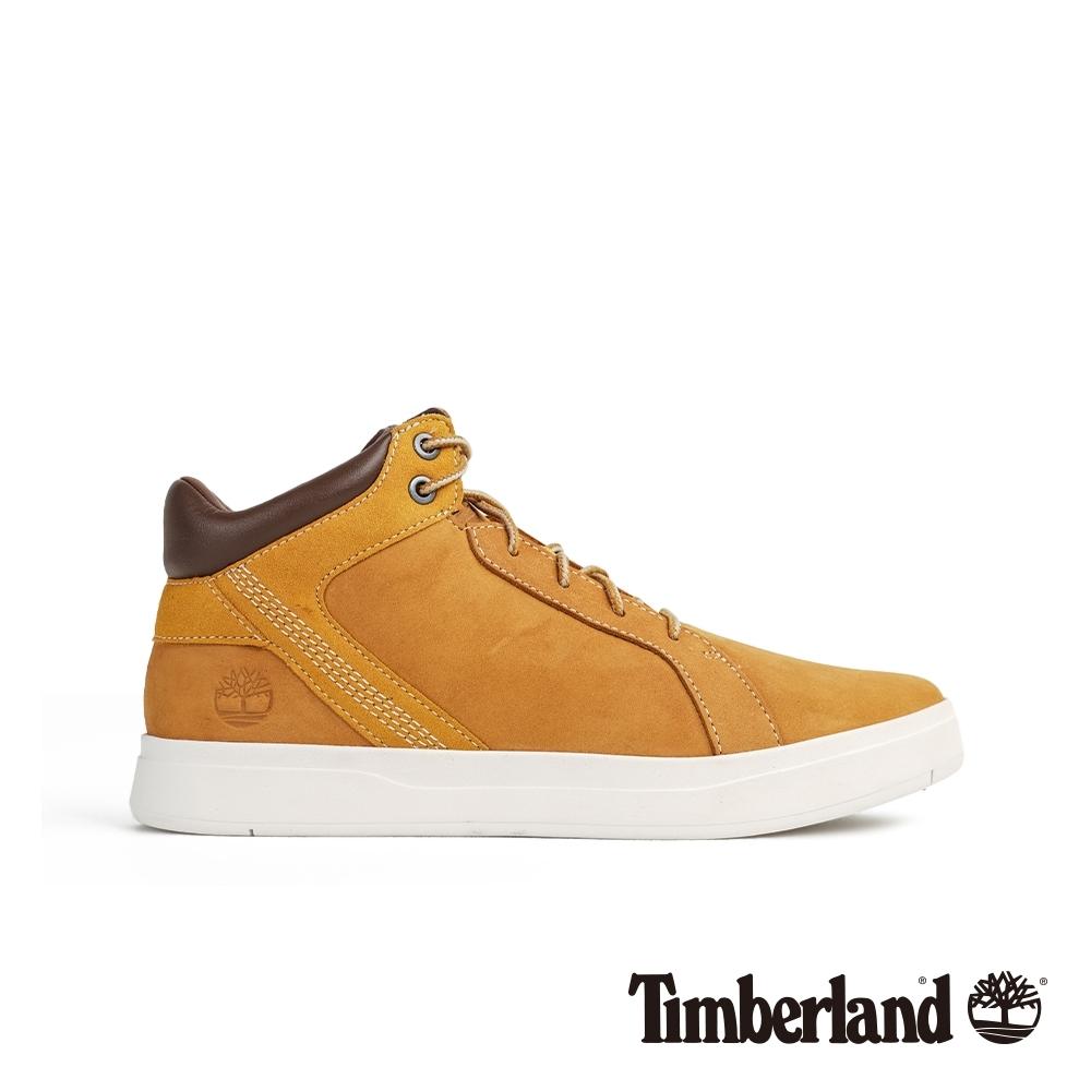 Timberland 男款小麥色經典休閒鞋|A1TQ9