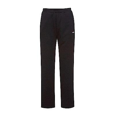 FILA 女款針織長褲-黑 5PNS-5417-BK