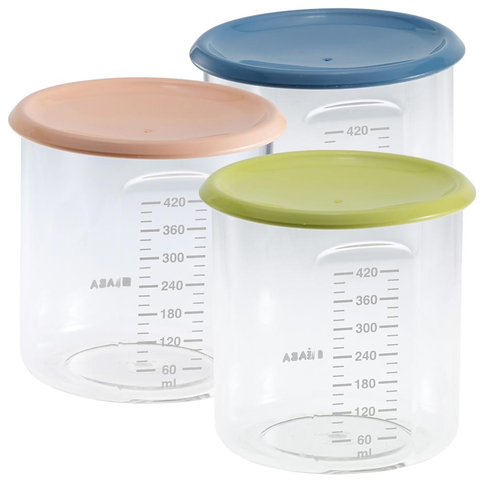 奇哥 BEABA 副食品儲存罐-420ml(3色選擇)