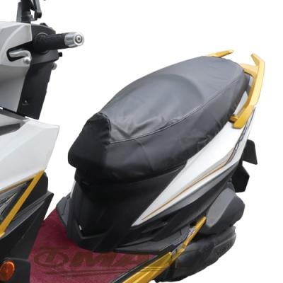 omax防熱黑色原皮機車坐墊套規格款