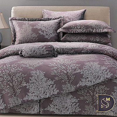 DESMOND岱思夢 雙人100%天絲全鋪棉床包兩用被四件組 柏楓