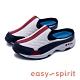 Easy Spirit-seTRAVELTIME370 輕量有型 色彩拼接透氣休閒拖鞋-藍色 product thumbnail 1
