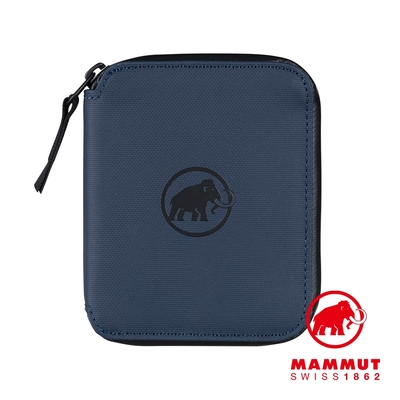 【Mammut】Seon Zip Wallet 休閒拉鍊短夾 海洋藍 #2810-00081