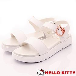 HelloKitty童鞋 超輕量涼鞋款 EI18178白(大童段)