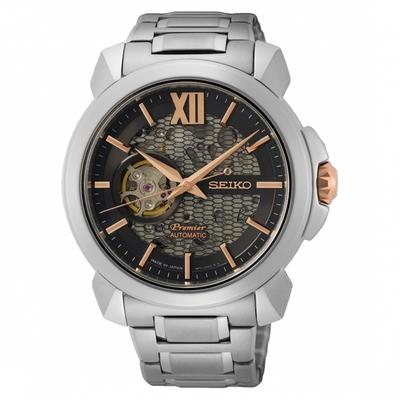 SEIKO Premier紳士雅痞設計款機械錶4R71-00C0D(SSA437J1)