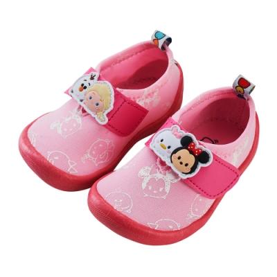迪士尼童鞋  TsumTsum 彈性布寶寶學步鞋