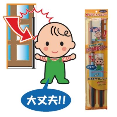 日本 CAR-BOY-門縫專用安全護條2入(茶色)
