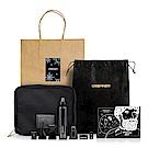 URBANER奧本聖誕修容包組-三合一修容禮盒+RITE旅行二合一側背包(加贈聖誕明信片束口袋)