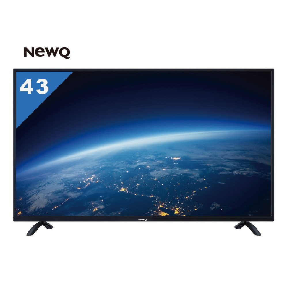 NewQ 43型 護眼低藍光高畫質LED液晶顯示器43NQ-VF1