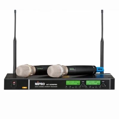 【MIPRO】頂級雙頻道自動選訊無線麥克風(ACT-8299PRO)