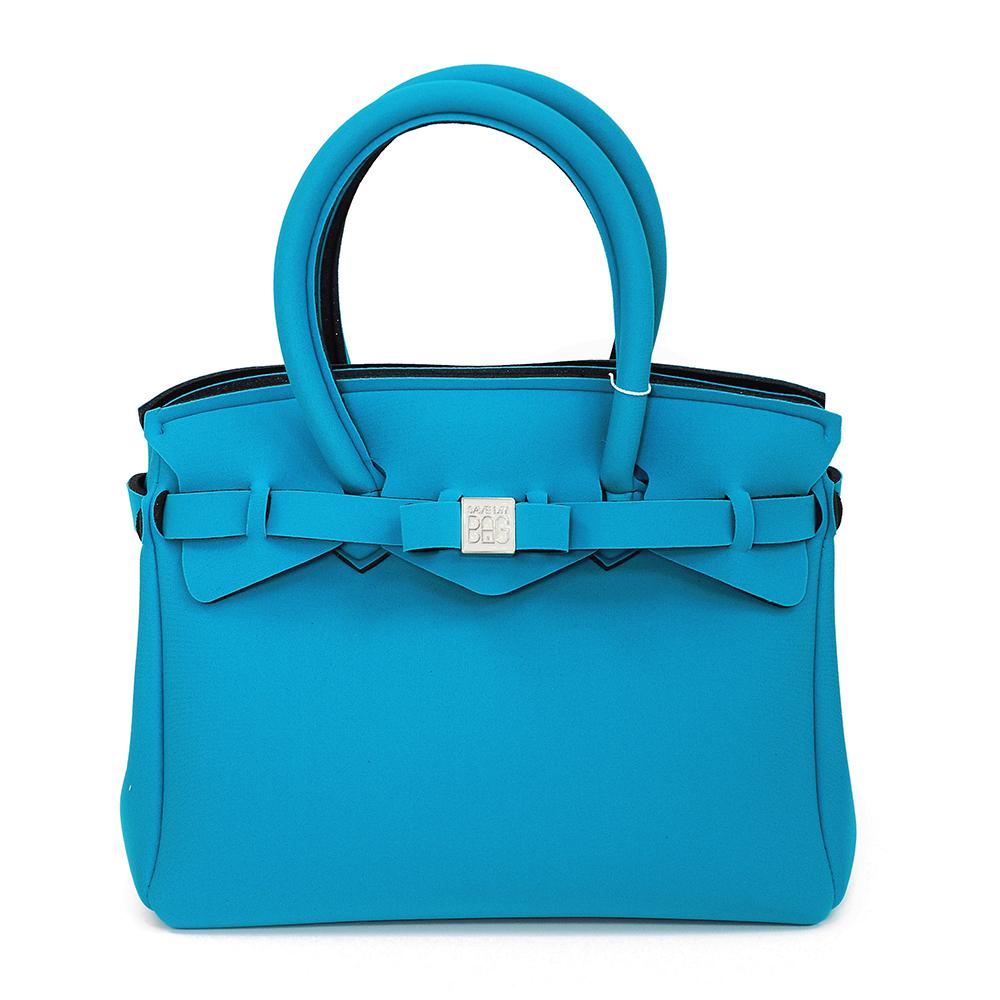 SAVE MY BAG 義大利品牌 PETITE系列 深天藍超輕量手提托特包