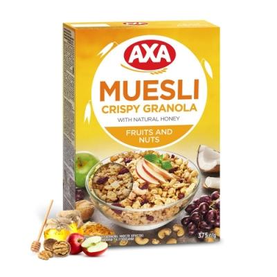 699免運瑞典AXA 綜合水果堅果穀物麥片 375g