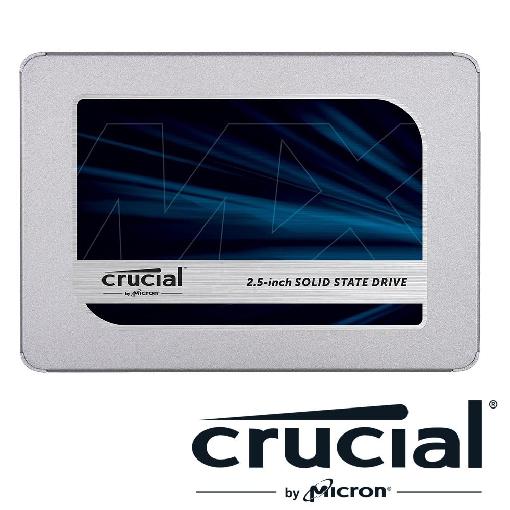 美光 Micron Crucial MX500 2TB SSD固態硬碟