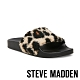 STEVE MADDEN-SHEAR 時尚素面絨毛拖-豹紋 product thumbnail 1