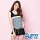 夏之戀SUMMER LOVE 連身褲條紋二件式泳衣 product thumbnail 1